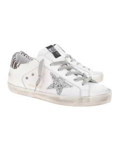 GOLDEN GOOSE DELUXE BRAND Superstar Zebra White