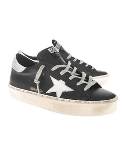 GOLDEN GOOSE DELUXE BRAND Hi Star Shiny Black