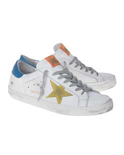 GOLDEN GOOSE DELUXE BRAND Superstar Yellow White