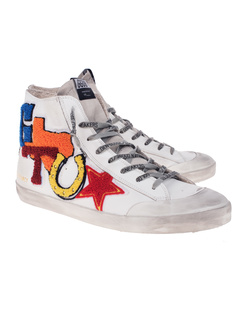 GOLDEN GOOSE DELUXE BRAND Francy White