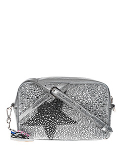 GOLDEN GOOSE DELUXE BRAND Star Black Crystal Silver