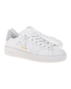 GOLDEN GOOSE DELUXE BRAND Pure Star Silver White
