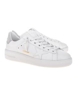 GOLDEN GOOSE DELUXE BRAND Pure Star Silver White