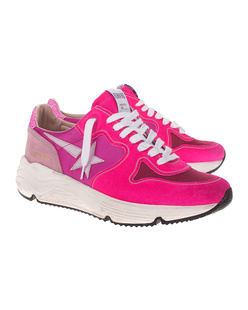 GOLDEN GOOSE DELUXE BRAND Runnning Sole Fuxia Suede Pink