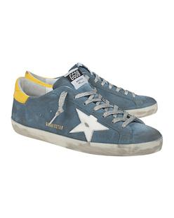 GOLDEN GOOSE DELUXE BRAND Superstar Yellow Blue