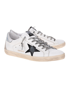 GOLDEN GOOSE DELUXE BRAND Superstar Silver White