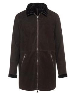 GIORGIO BRATO Lamb Fur Brown
