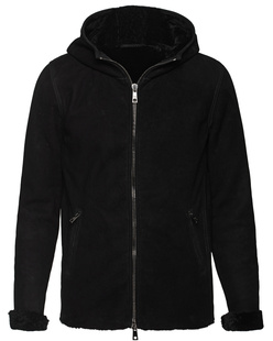 GIORGIO BRATO Hood Leather Black