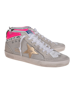 GOLDEN GOOSE DELUXE BRAND Star Net Leather White