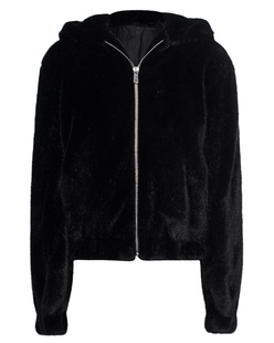 HELMUT LANG Hooded Mink Black