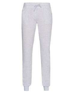 Majestic Filatures  Slim Cuff Cashmere Light Grey