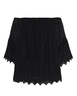 JADICTED Off Shoulder Black