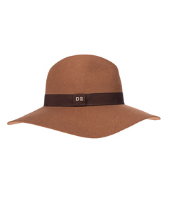 DSQUARED2 Wool Stitching Brown