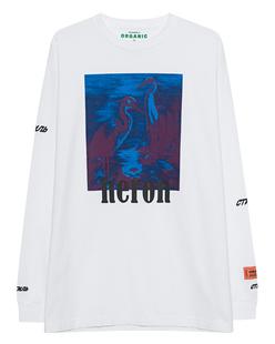 HERON PRESTON Heron Print Long Off-White