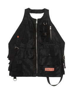 HERON PRESTON Nylon Pockets Black