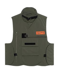 HERON PRESTON Ripstop Vest Military Dark Olive