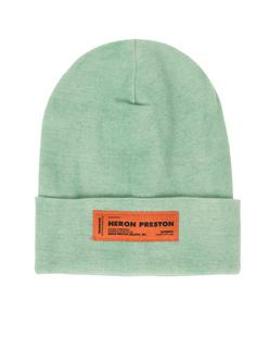 HERON PRESTON Logo Knit Green