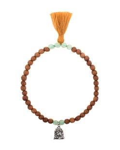 HOFFNUNGSTRÄGER Sandalwood Buddha Pearls Mint