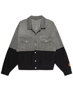 HERON PRESTON Nylon Trucker Grey