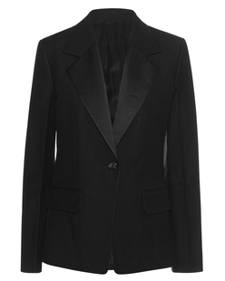 HELMUT LANG Shiny Lapel Black