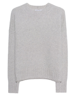 HELMUT LANG Brushed Wool Light Grey