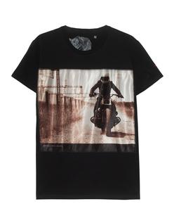 Bastille Biker Silk Black