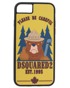 DSQUARED2 iPhone 8 Bear Multicolor