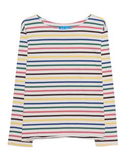M.i.h JEANS Simple Mariniere Rainbow Stripes