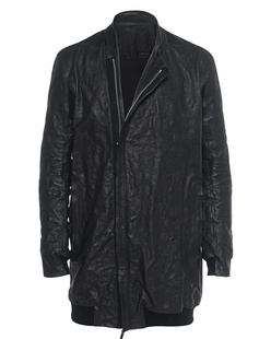 BORIS BIDJAN SABERI Leather Long Black