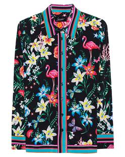 JADICTED Black Floral Print Multicolor