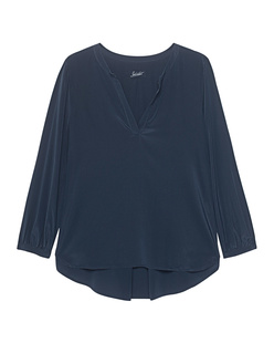 JADICTED Silk Longsleeve Blue Black
