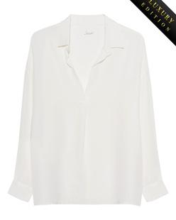 JADICTED Classy Heavy Silk Off White