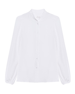 JADICTED Silk Blouse White