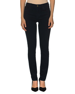 J BRAND Lillie Super High Rise Flare Dark Blue