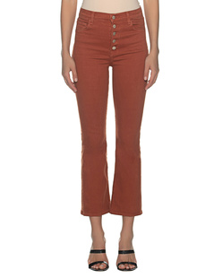 J BRAND Lillie Lazlo Rust Brown