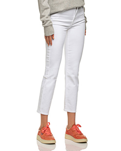 J BRAND Alma Straight High Rise White