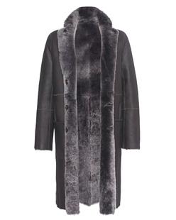 JOSEPH Lamb Fur Anthracite