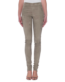 JOSEPH Legging Suede Stretch Oliv