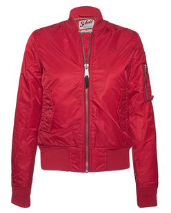 Schott NYC Bomber Classic Red