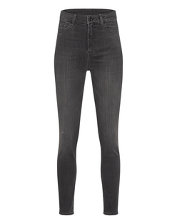 7 FOR ALL MANKIND Aubrey Slim Illusion Luxe Black