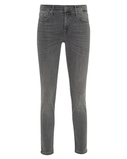 7 FOR ALL MANKIND Pyper Crop Slim Illusion Grey