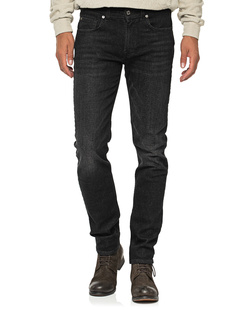 7 FOR ALL MANKIND Cashmere Slimmy Tapered Black