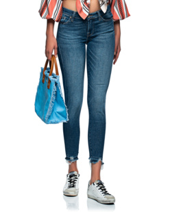7 FOR ALL MANKIND Piper Crop Luxe Vintage Blue