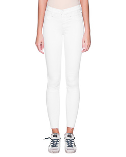7 FOR ALL MANKIND  The Skinny Crop White