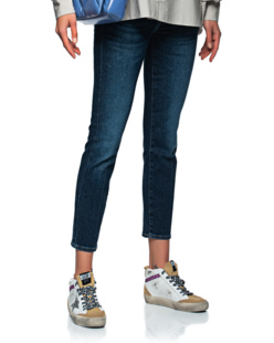 7 FOR ALL MANKIND Roxanne Ankle Luxe Dark Blue
