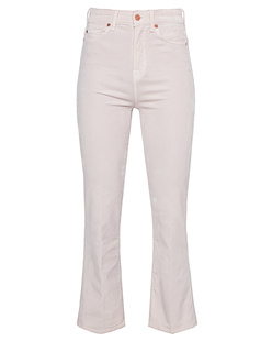 7 FOR ALL MANKIND Bootcut Corduroy Champagne Off-White