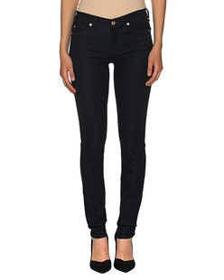 7 FOR ALL MANKIND The Skinny Slim Illusion Darkness Blue