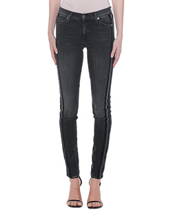 7 FOR ALL MANKIND Skinny Stripe Black