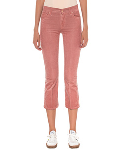 7 FOR ALL MANKIND Corduroy Cropped Rose