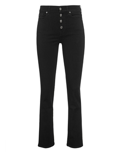7 FOR ALL MANKIND BAIR RINSED BLACK